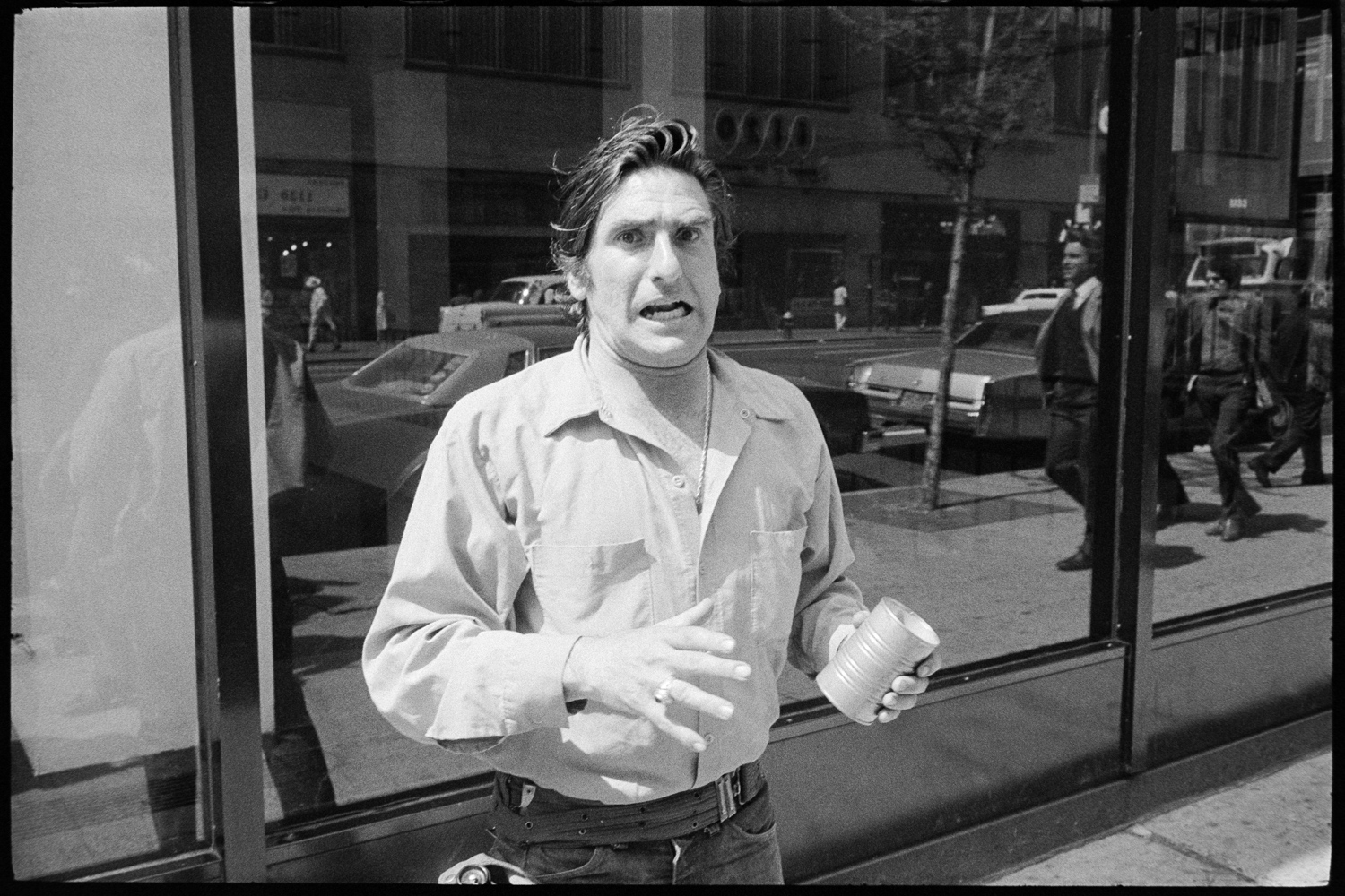 Street Photos, New York Street Photos In The '70s: The Original Opera Guy?, Mason Resnick Photography