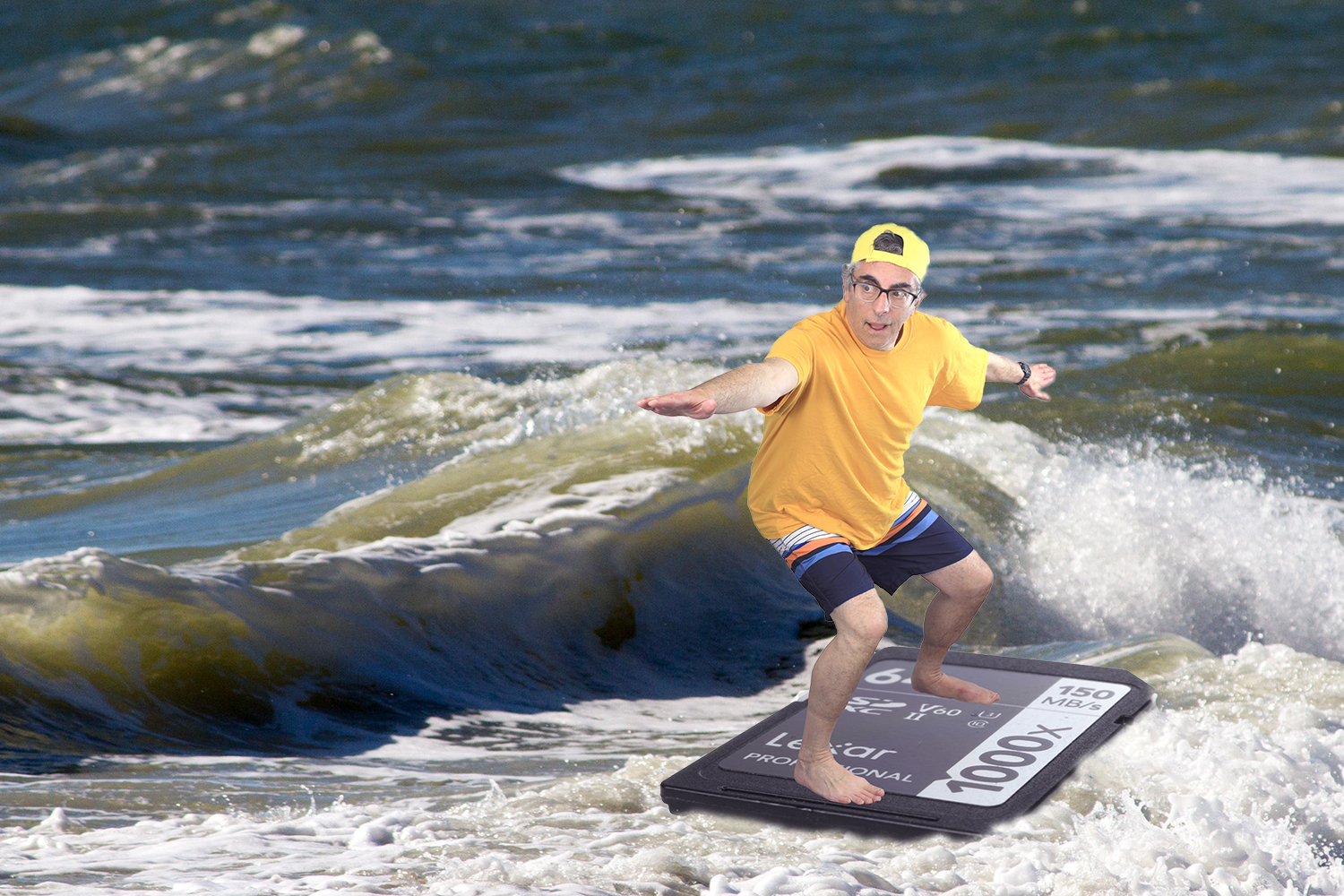 , Too Much Time On My Hands: Surfing On A Memory, Mason Resnick Photography